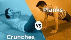 Crunch vs Plank