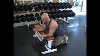 Barbell Bench Wrist Curl