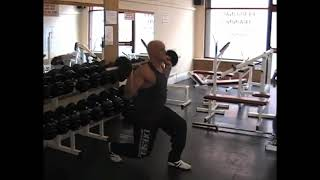 Barbell Lunge