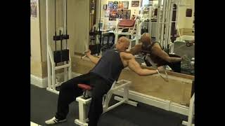Cable Incline Side Curl