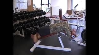 Dumbell Decline Bench Press