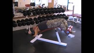 Dumbell Decline Fly