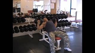 Dumbell Incline Bench Press
