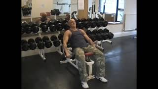 Dumbell Incline Front Raise