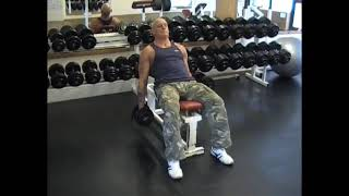 Dumbell Incline Hammer Curl