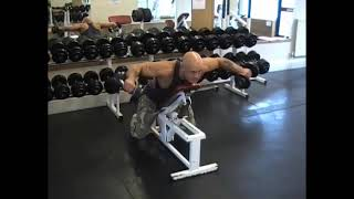 Dumbell Incline Rear Lateral Raise