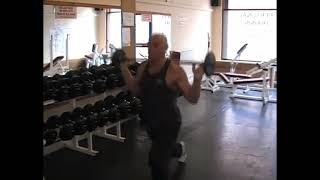 Walking Barbell Lunge