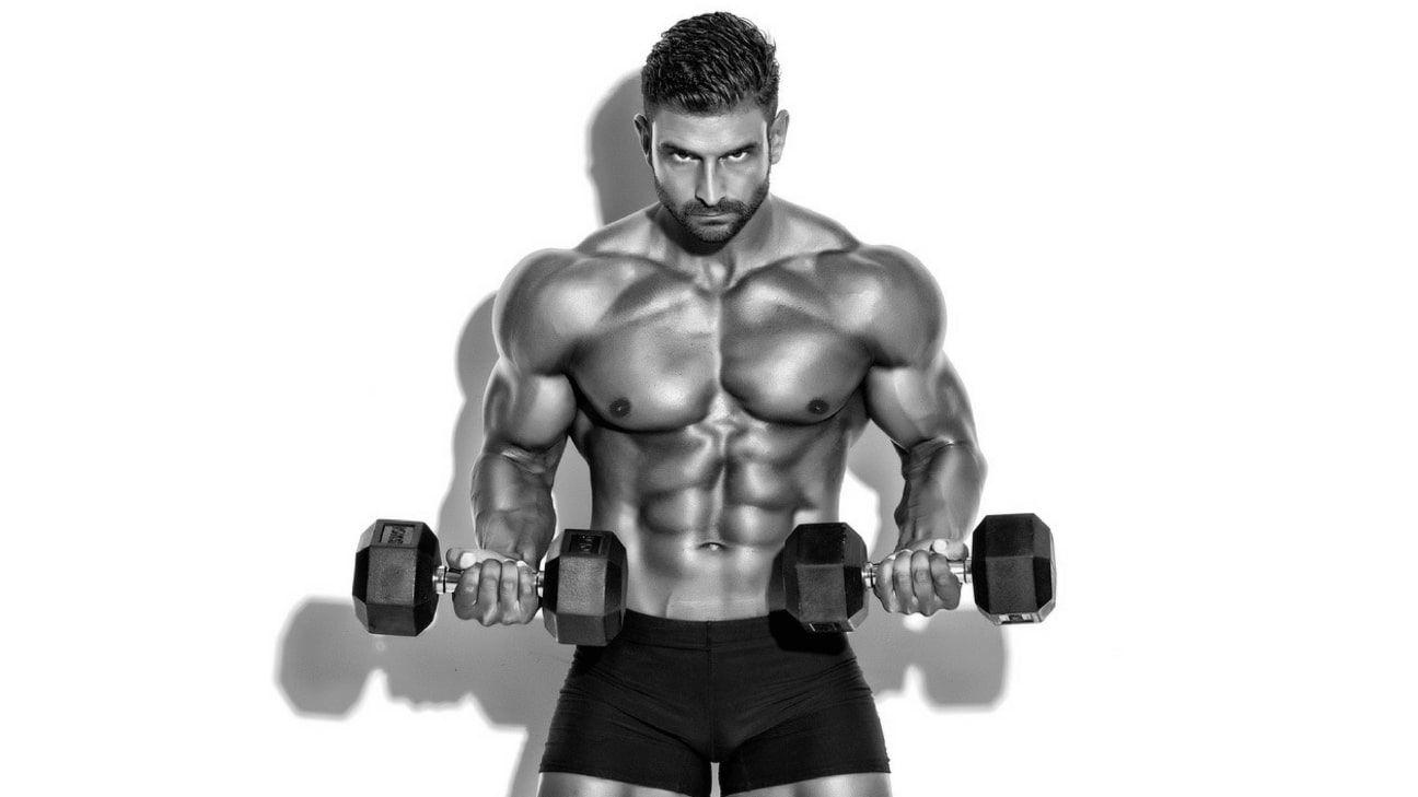 Vücut Geliştirme Sporcusu