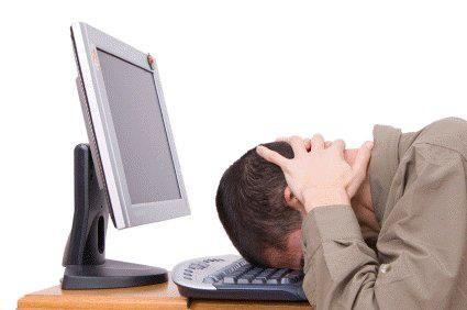 bang to the keyboard