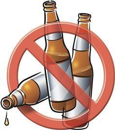 bira içme!