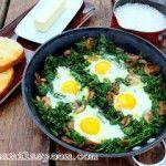 Daha Hızlı Refleksler İçin Ispanak ve Yumurta