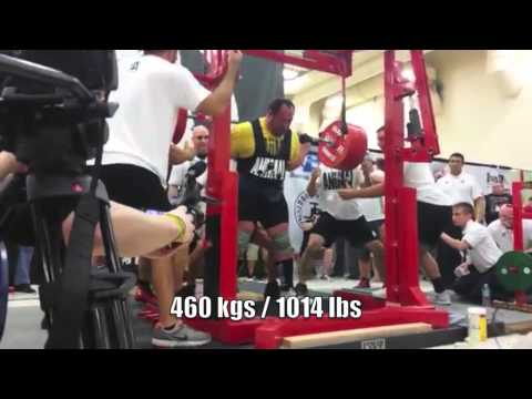 Malanichev 2469 lbs / 1120 kgs Raw, 1014 lb Squat - All-Time World Records