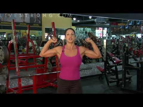 Dambıl Omuz İtiş ⁄ How to Do a Dumbbell Shoulder Press ~ bodytr com