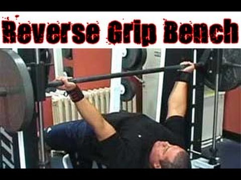 Reverse Grip Bench Press Technique
