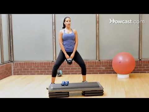 Bacaklar Açık Çömelme Sumo Squat ⁄ Plie Squat